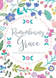 On those crazy, exhausting, never-ending days as a mama, remember grace