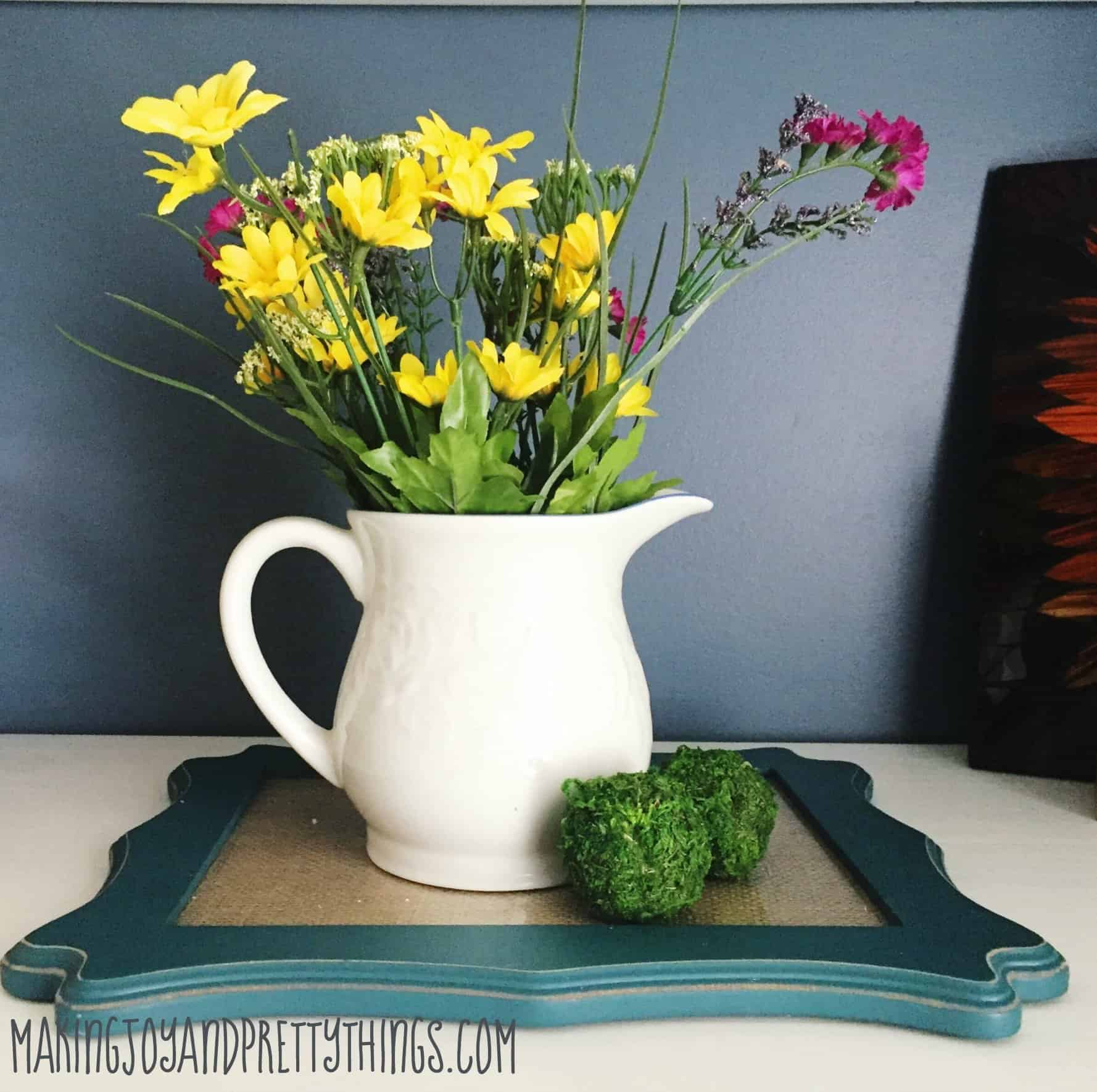 Make your own DIY centerpiece for FREE in 5 minutes!