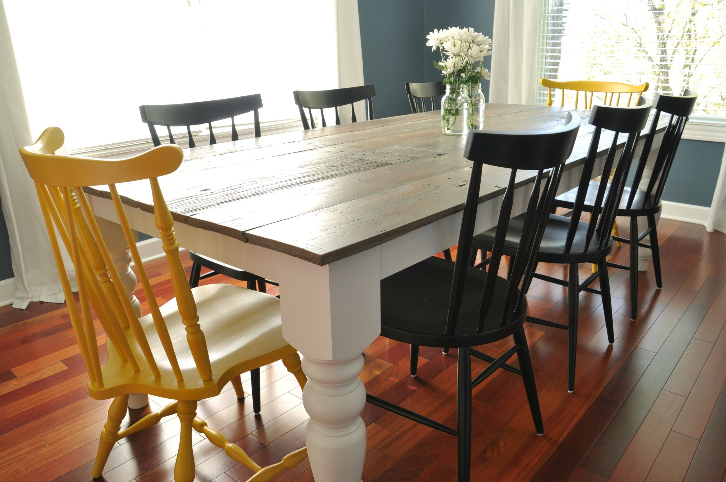 Picture of: 7 Diy Farmhouse Tables With Free Plans Making Joy And Pretty Things