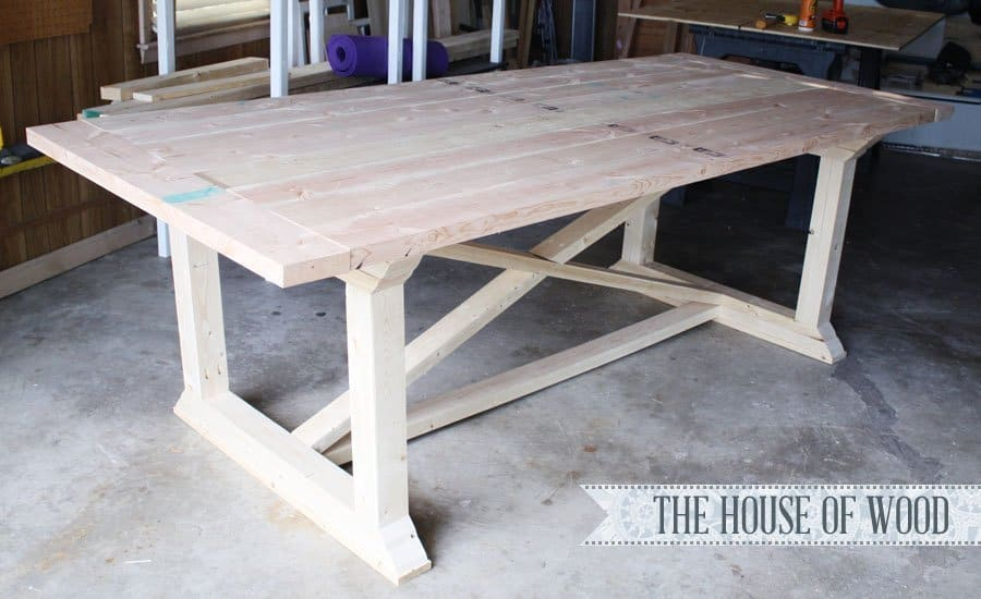 7 Diy Farmhouse Tables With Free Plans Making Joy And Pretty Things