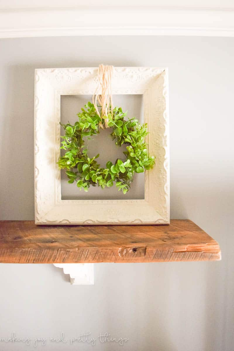 Simple Farmhouse Decor How To Make Your Own Wood Bead Garland Making Joy And Pretty Things