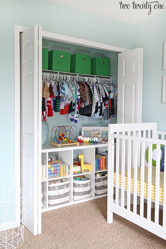 nursery-closet