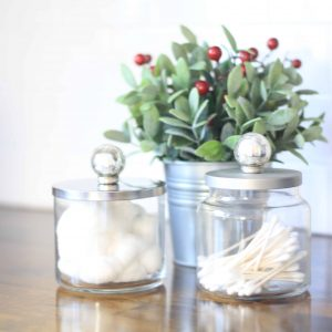 rustic bathroom container | 12 Days of Craftmas | DIY Gifts | Crafty Gifts | Christmas Gifts DIY | Gift Ideas | DIY Christmas Gifts