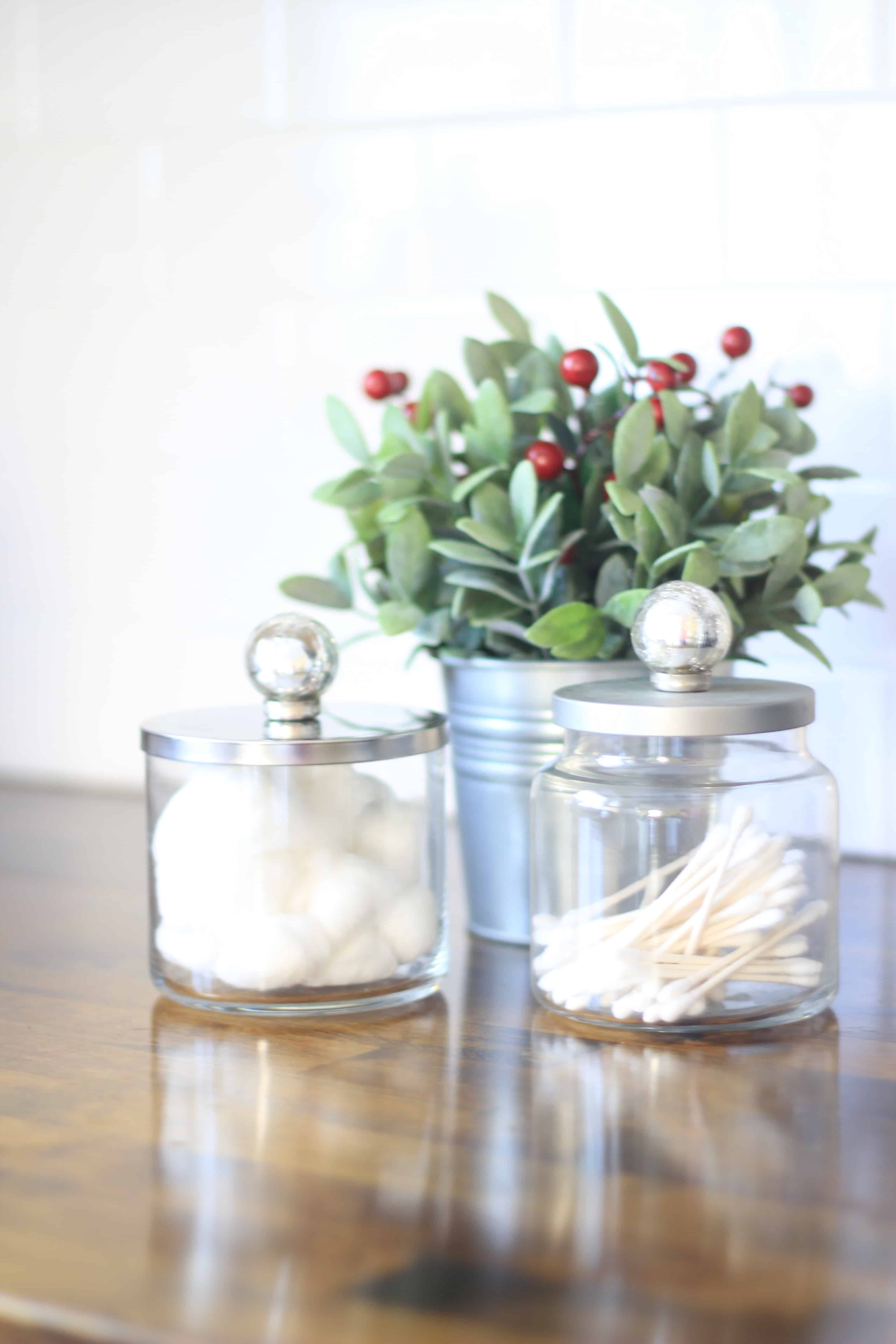 rustic bathroom containers | 12 Days of Craftmas | DIY Gifts | Crafty Gifts | Christmas Gifts DIY | Gift Ideas | DIY Christmas Gifts