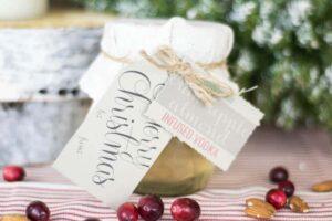 Mason Jar Infused Vodka   Farmhouse Style   DIY Ideas   12 Days of Craftmas   DIY Gifts   Crafty Gifts   Christmas Gifts DIY   Gift Ideas   DIY Christmas Gifts