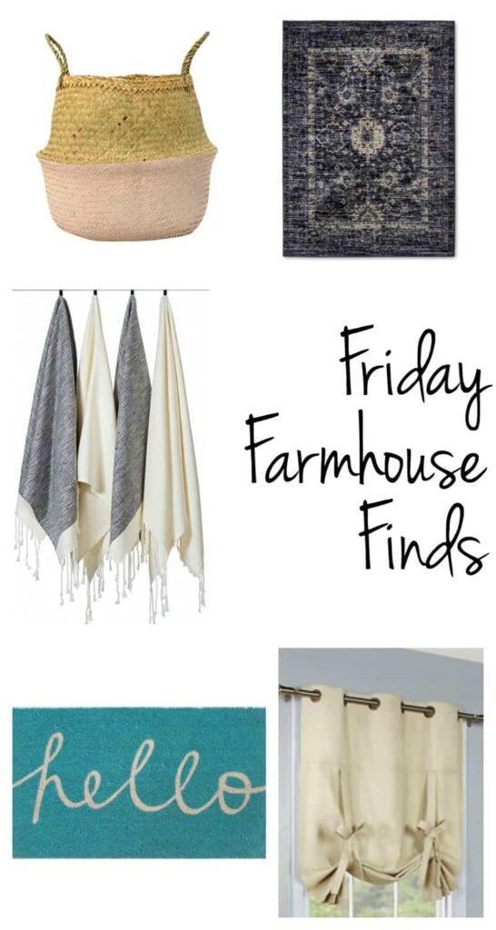 friday farmhouse finds | farmhouse decor | farmhouse style