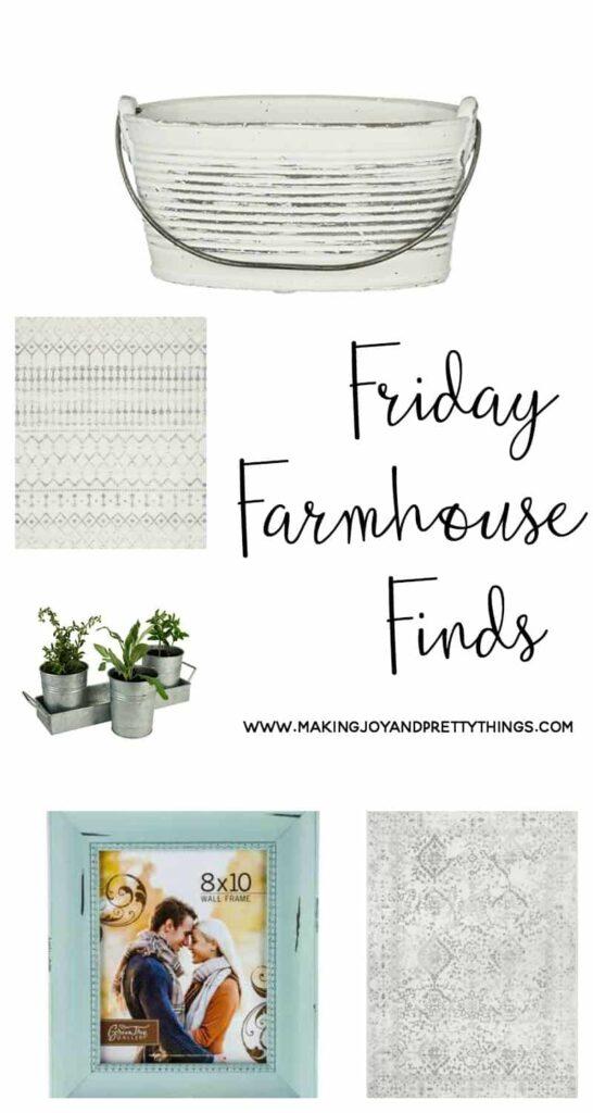farmhouse decor | farmhouse friday finds | budget friendly farmhouse finds | farmhouse decor on a budget | farmhouse ideas | fixer upper