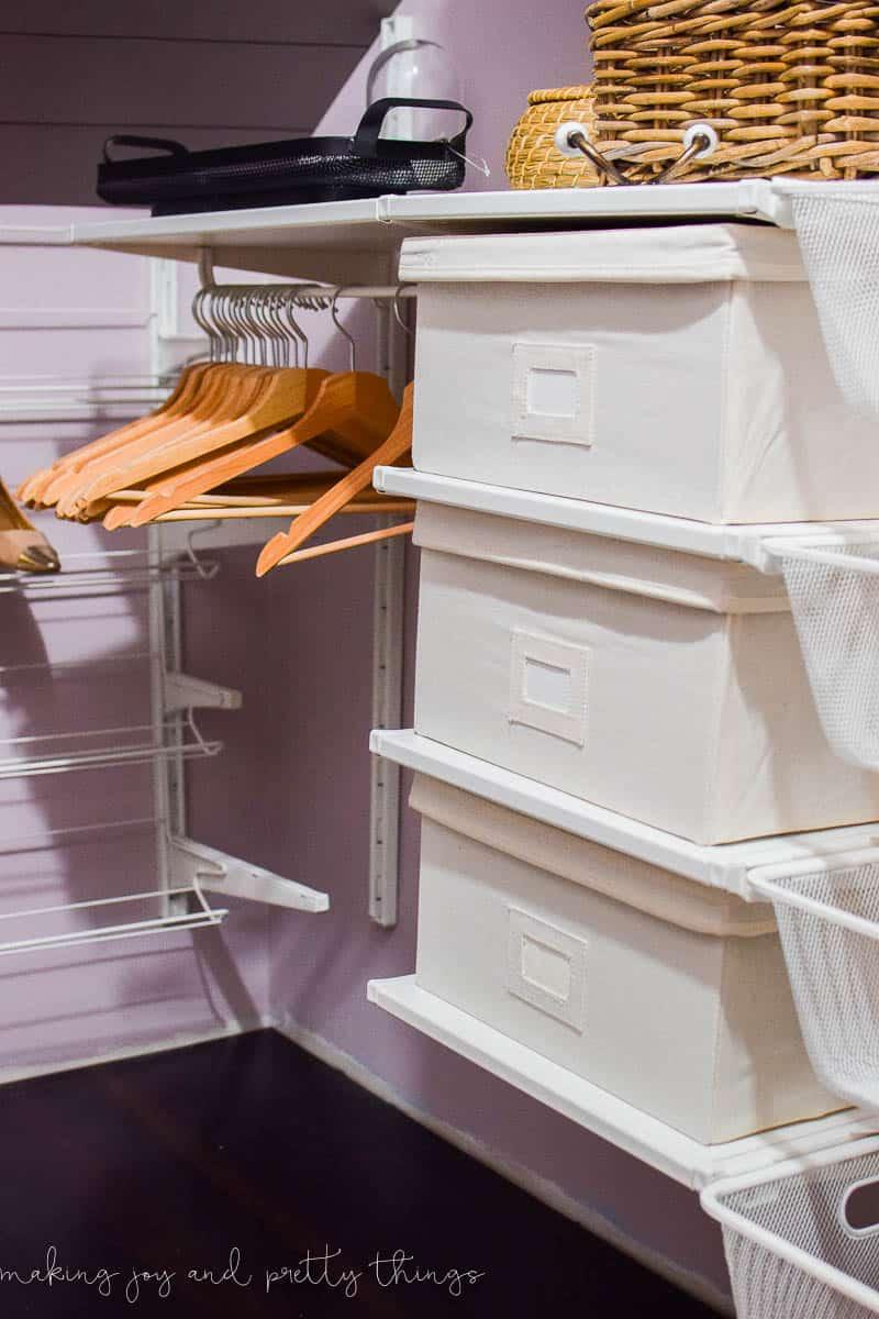 One Room Challenge Week 4: Master Bedroom Closet