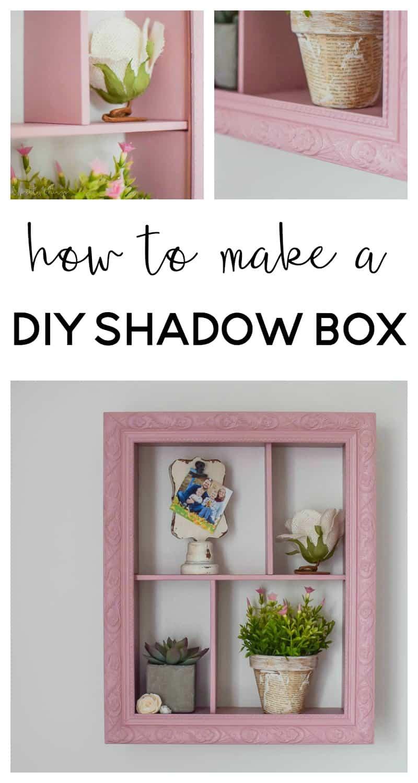 diy shadowbox | diy shadow box ideas | diy shadow box frame | how to make a shadow box diy | restoration hardware knock off diy | shadow box ideas | shadow box diy | shadow box baby | nursery ideas | farmhouse nursery