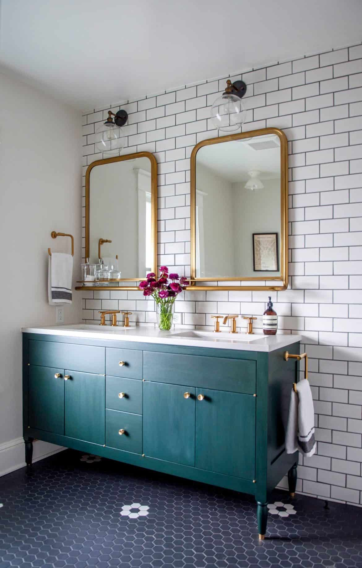 Modern Vintage Bathroom Inspiration Making Joy And Pretty Things