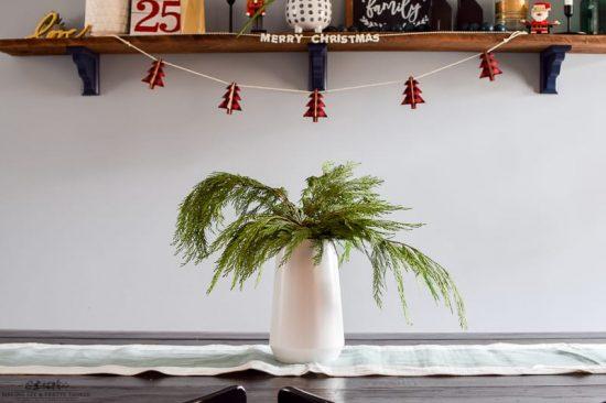 #christmas #diningroom #homedecor #christmasdecorations   christmas decorations   christmas in the dining room   decorate for christmas   dining room decor   dining room table   diy christmas decorations   decorating ideas   decorating for christmas