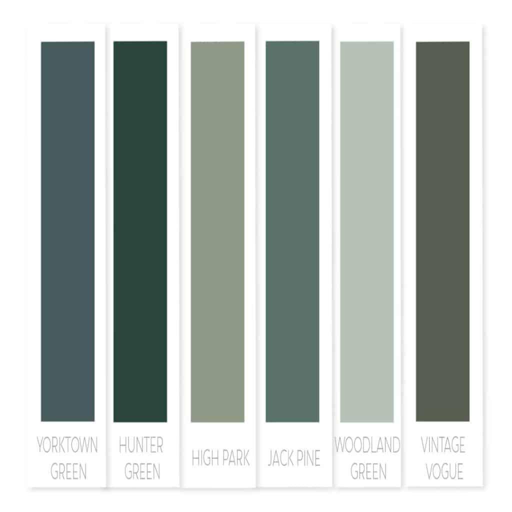 Benjamin Moore green paint | best green paint colors | best Benjamin Moore green paint | popular green paint Benjamin Moore