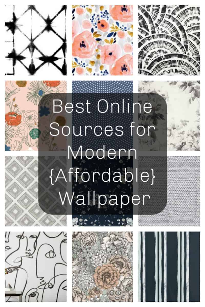 best online sources for modern affordable wallpaper | wallpaper ideas | modern wallpaper | wallpaper accent wall
