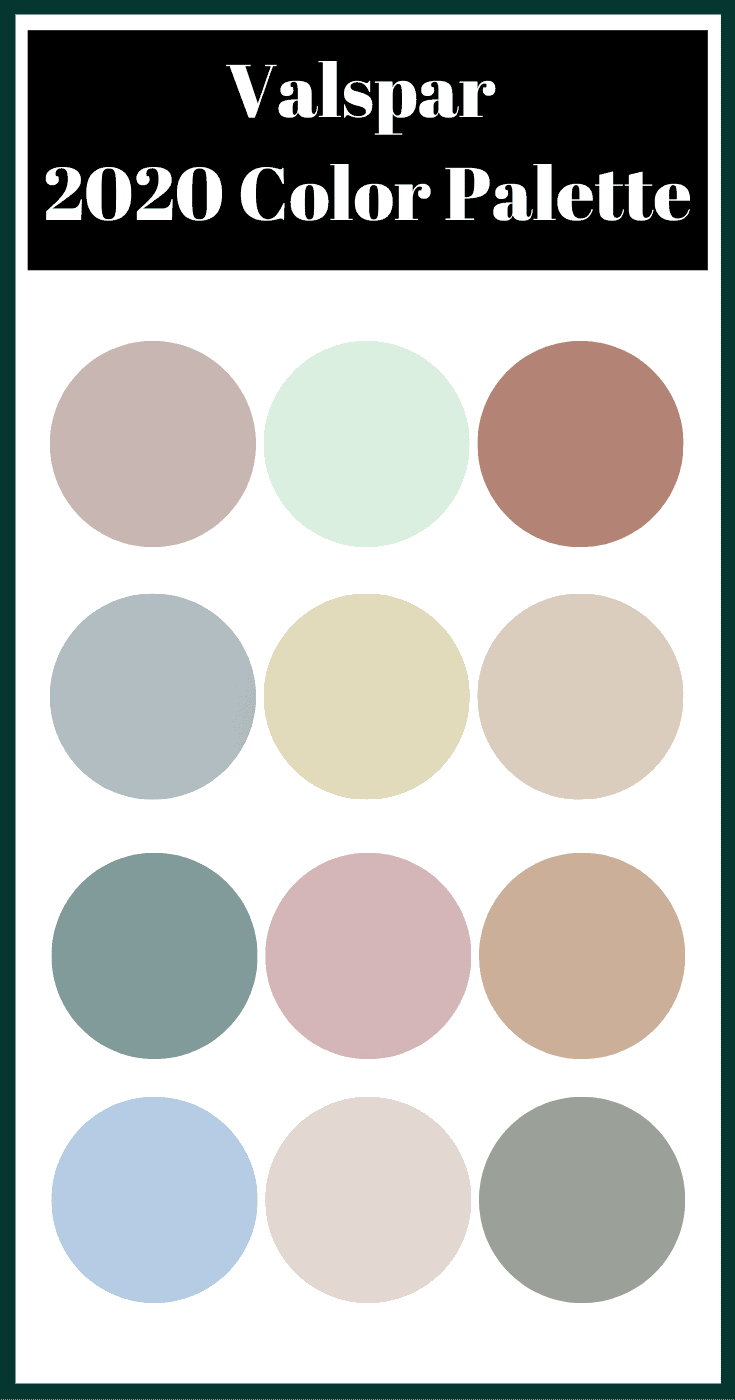 Valspar 2020 Colors of the Year. Get your home on trend with the best paint colors to use in your home. Tons of inspiration from top paint brands on which paint colors to choose and which paint color is trending right now. Get paint color schemes and paint colors for your home!
